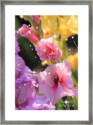 Summer Sparkle Framed Print