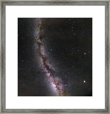 Summer Stars Without Light Pollution Framed Print by Eckhard Slawik