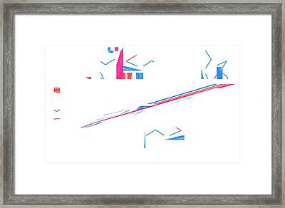 Summer Storm Framed Print by Cletis Stump