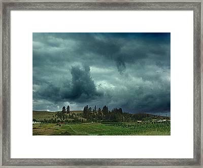 Summer Storm Framed Print by Janet Ashworth