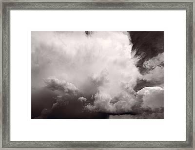 Summer Storm Framed Print by Steve Gadomski