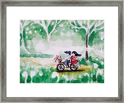 Summer Story 2 Framed Print