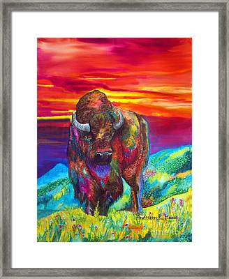 Summer Strength Framed Print by Anderson R Moore
