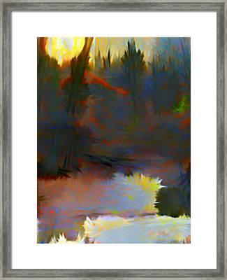 Summer Sun Framed Print by Mindy Newman
