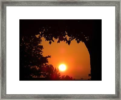 Summer Sunrise Framed Print by Thomas Woolworth