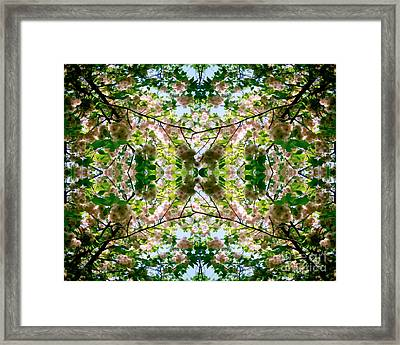 Summer Symmetry Framed Print