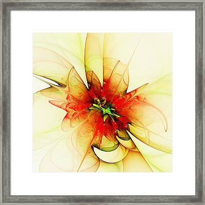 Summer Thoughts Framed Print by Anastasiya Malakhova