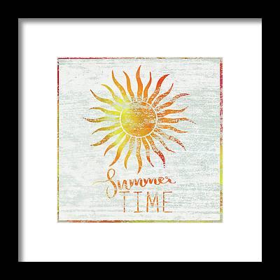 Summertime Framed Prints