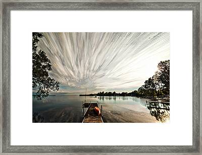 Summer Time... Lapse Framed Print