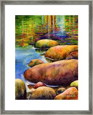 Summer Tranquility Framed Print by Hailey E Herrera