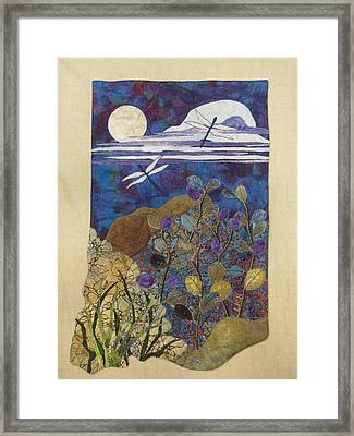Summer Twilight Framed Print