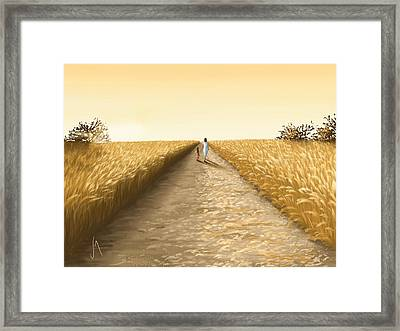 Summer Framed Print by Veronica Minozzi