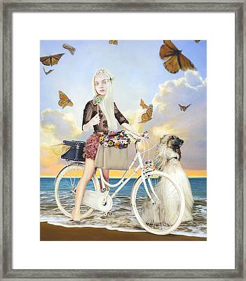 Summer Framed Print by Vic Lee
