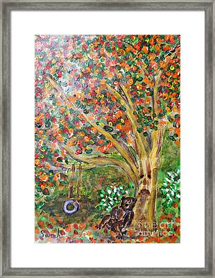 Summer Went By Too Quickly Framed Print by Sarah Loft