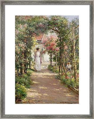 Summer Framed Print by William Kay Blacklock