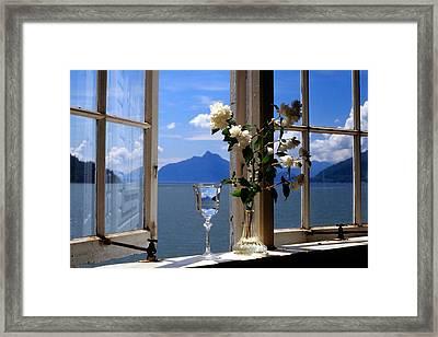 Summer Window-2 Framed Print