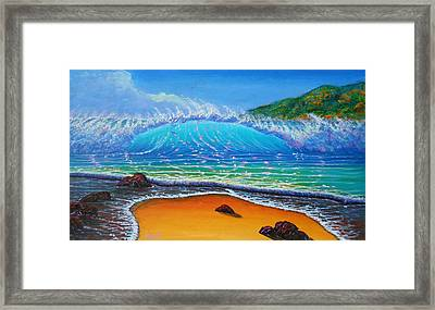 Summer Winds Framed Print
