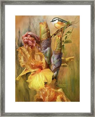 Summer Wonders Framed Print by Carol Cavalaris