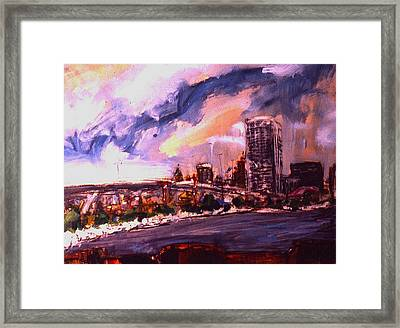 Summerfest Framed Print by Les Leffingwell