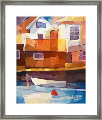 Summerlife At The Coast Framed Print