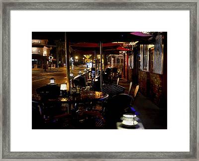 Summerlin Cafe Framed Print
