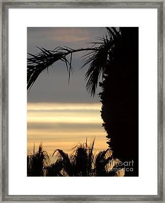 Summerlin Nv Sunset Framed Print