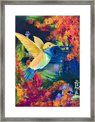 Summers Bounty Framed Print by Tracy L Teeter
