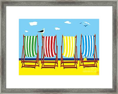 Summers Comin Framed Print by Neil Finnemore