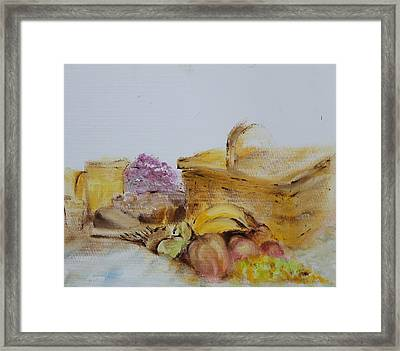 Summers Day Framed Print by Genny Goodman