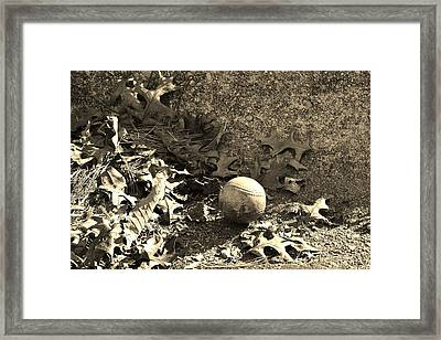Summer's End Framed Print by Mary Zeman