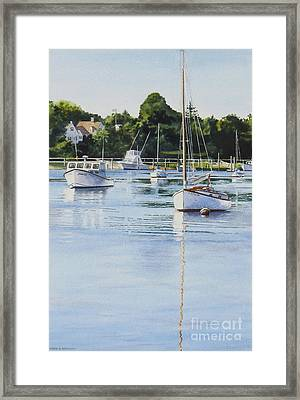 Summer's Eve Framed Print by Karol Wyckoff
