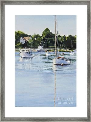 Summer's Eve Framed Print by Karol Wyckoff