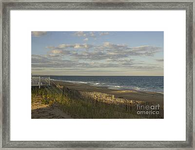 Summer's Farewell Framed Print