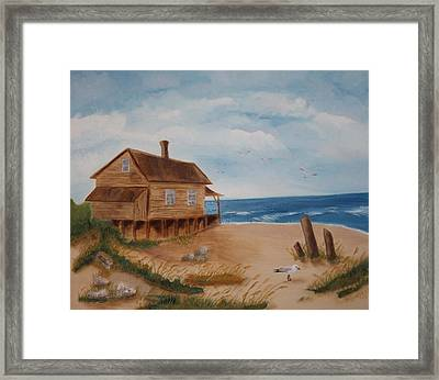 Summers Over Framed Print