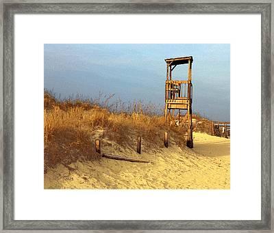 Summer's Over Framed Print