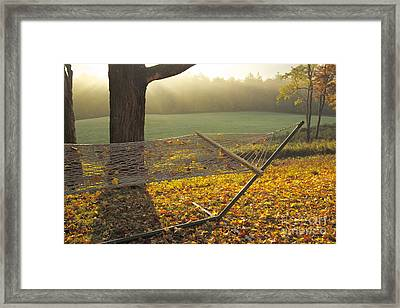 Summer's Repose Framed Print by Alice Mainville
