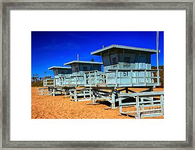 Summers Sentinels 2 Framed Print by David Doucot