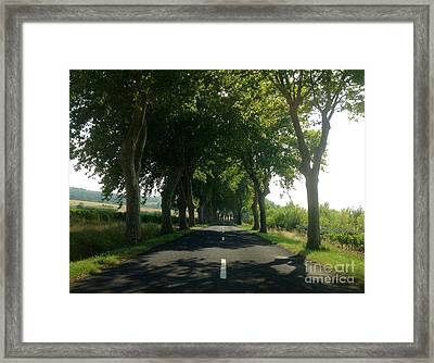 Summer's Shade Framed Print by France  Art