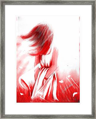 Summer's War Framed Print by Jamie Gibson