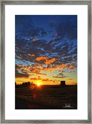 Summerset Framed Print by Dan Quam