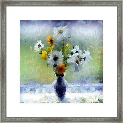Summerstorm Still Life Framed Print