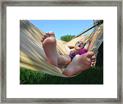 Summertime And The Livin' Is Easy Framed Print by Laura Fasulo