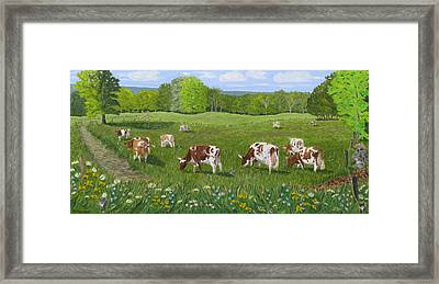 'summertime And The Living Is Easy' Framed Print