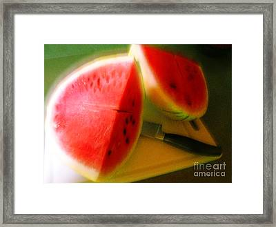 Summertime And The Living Is Easy Framed Print