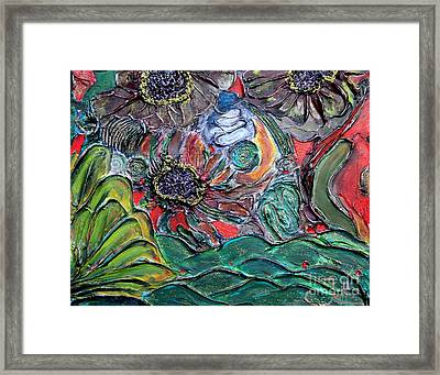 Summertime Bliss.. Framed Print by Jolanta Anna Karolska