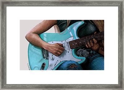 Summertime Blues Framed Print