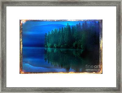 Summertime Blues Framed Print by The Stone Age