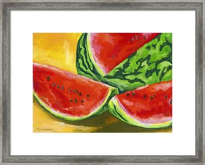 Summertime Delight Framed Print