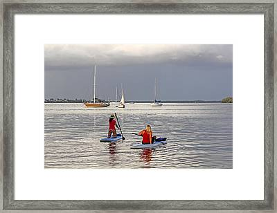 Summertime Fun Framed Print by HH Photography of Florida