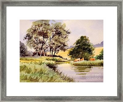 Summertime In England Framed Print by Bill Holkham